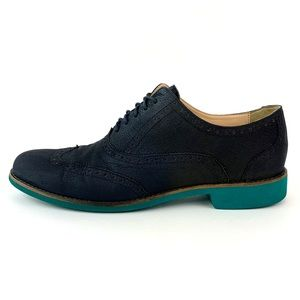 Cole Haan Alisa Oxford Suede Navy Blue Shoes